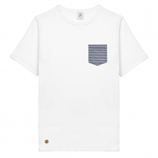 T-SHIRT LIN KAKI HOMME - Made in France & Lin Français