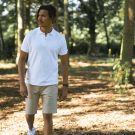 POLO HOMME BLANC - Made in France & 100% Coton Bio
