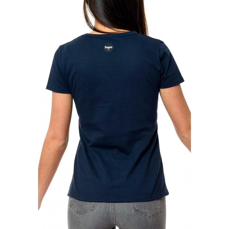 197b411b0f7d Tee shirt Femme Marinière - Made in France - Bio - Le t-shirt Propre