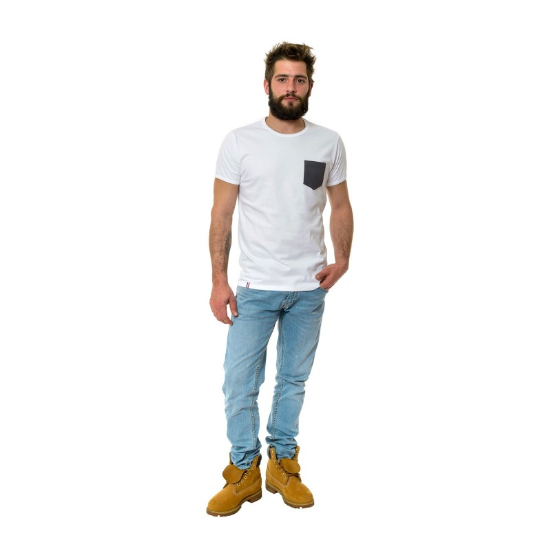 tee shirt homme made in france coton bio le t shirt. Black Bedroom Furniture Sets. Home Design Ideas