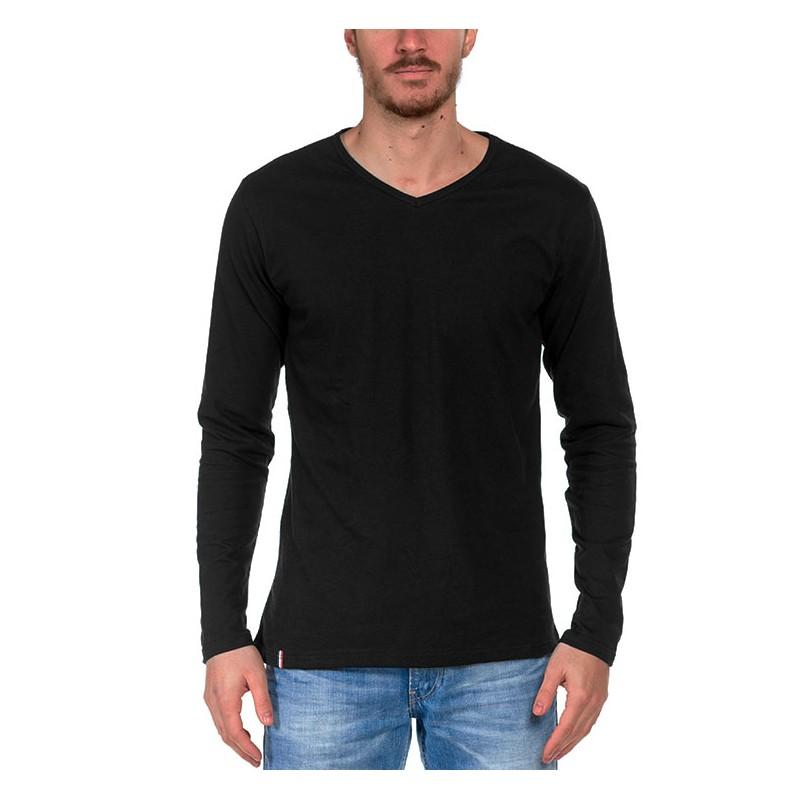 vente limitée acheter mieux hot-vente dernier Tshirt manche longue Noir - Made in France - Bio - Le t ...